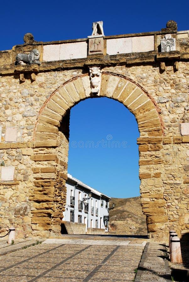 De Reuzen overspannen, Antequera royalty-vrije stock afbeeldingen