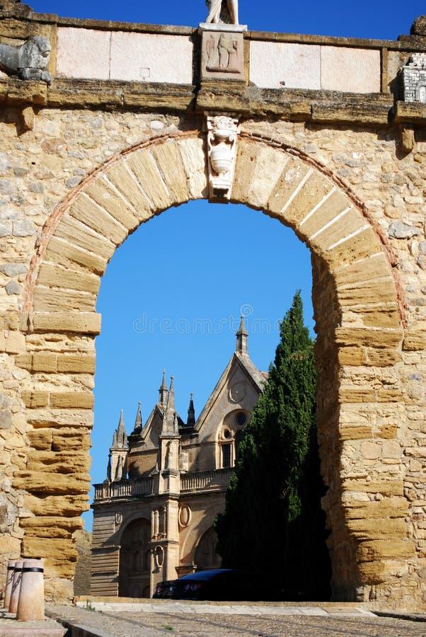 De Reuzen overspannen, Antequera stock afbeelding