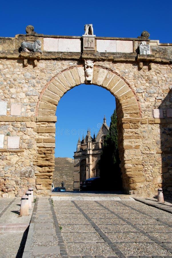 De Reuzen overspannen, Antequera stock afbeeldingen