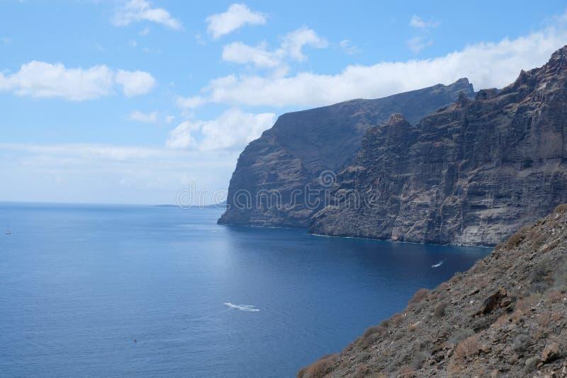 De Reuzenklippen van Tenerife, Canarische Eilanden ( SPANJE stock foto's