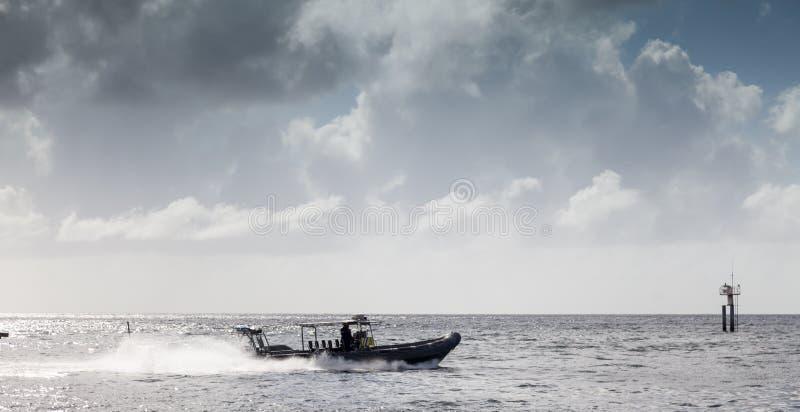 De rib van kustwachtfaat royalty-vrije stock foto
