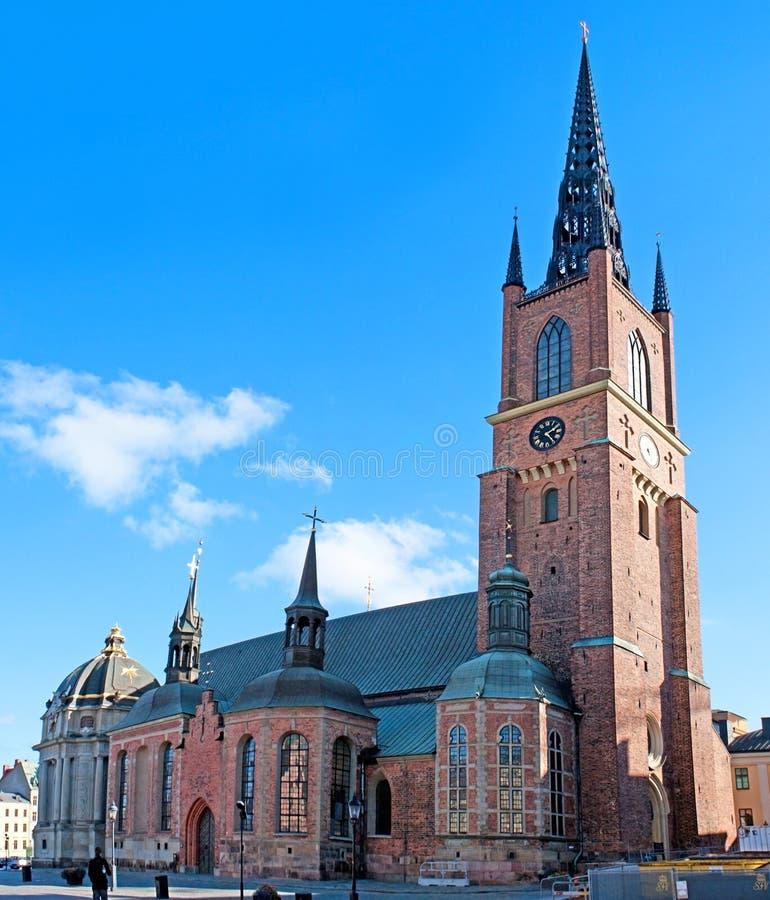 De Riddarholm-Kerk royalty-vrije stock foto's
