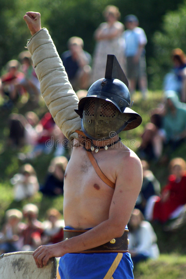 De ridder van de overwinning royalty-vrije stock foto's
