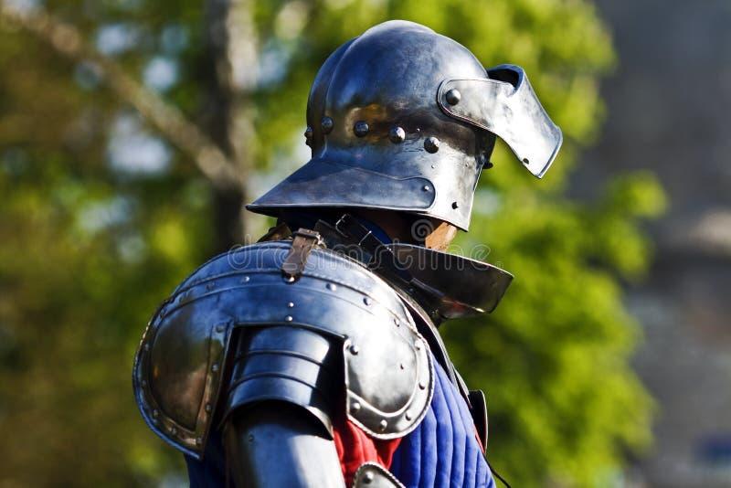 De ridder van het profiel royalty-vrije stock afbeeldingen