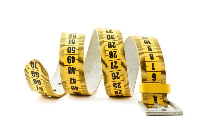 De riemvermageringsdieet van de meter royalty-vrije stock afbeeldingen
