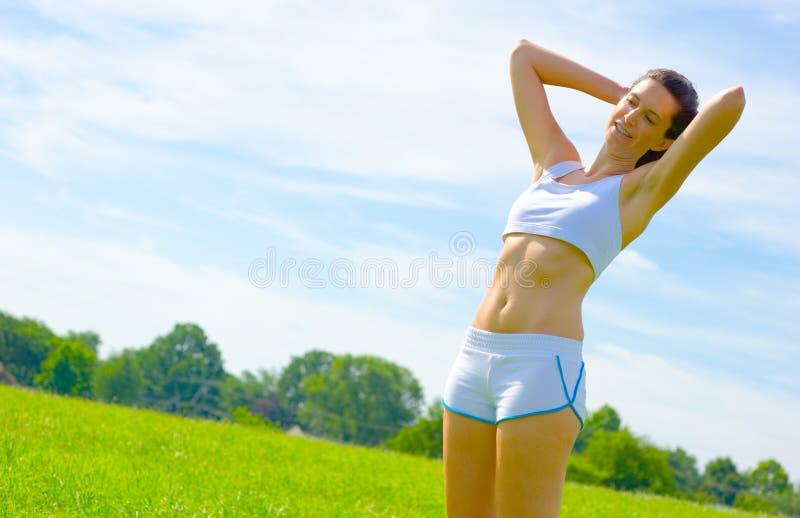 Download De Rijpe Atleet Van De Vrouw Stock Foto - Afbeelding bestaande uit actief, alleen: 10783852