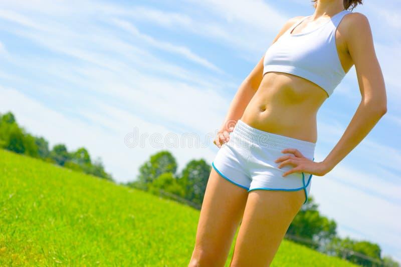 Download De Rijpe Atleet Van De Vrouw Stock Foto - Afbeelding bestaande uit jogger, geschiktheid: 10783882