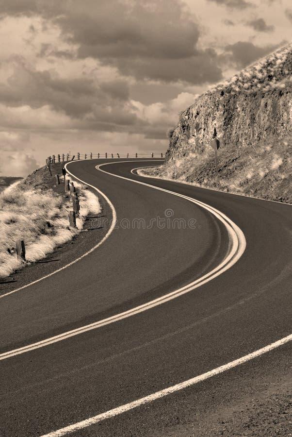 De Rijweg van het land royalty-vrije stock fotografie