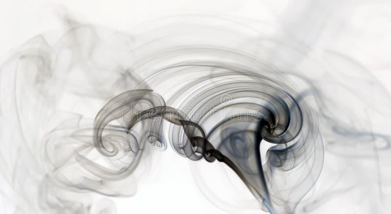 De Rimpeling van de rook stock afbeeldingen