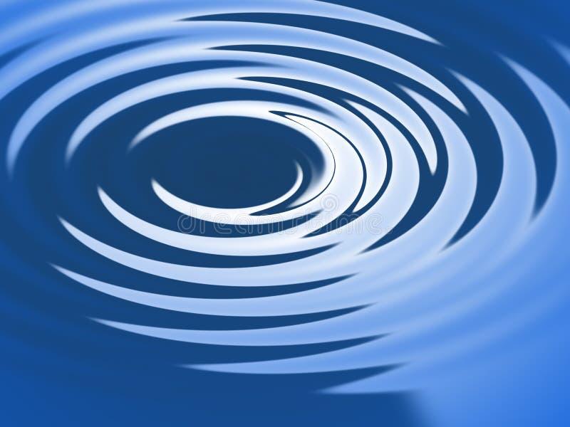 De rimpeling van het water royalty-vrije illustratie