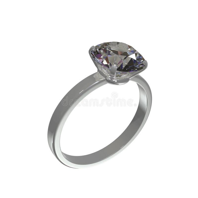 De ring van de diamant vector illustratie