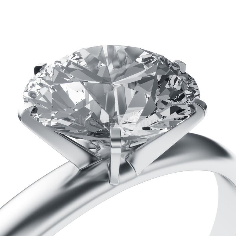 De ring van de diamant royalty-vrije illustratie