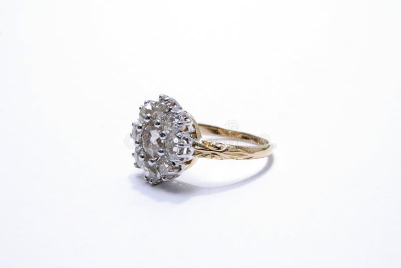De ring van de diamant. royalty-vrije stock foto