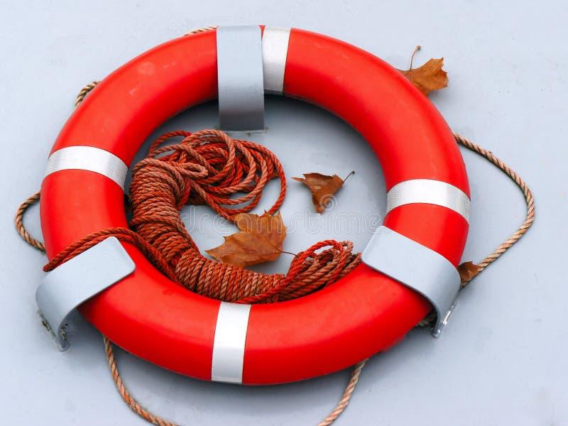 De ring van de reddingsboei stock afbeelding