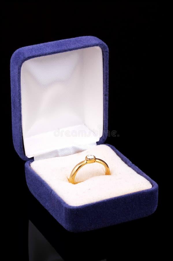 De Ring van Diamnod stock foto's