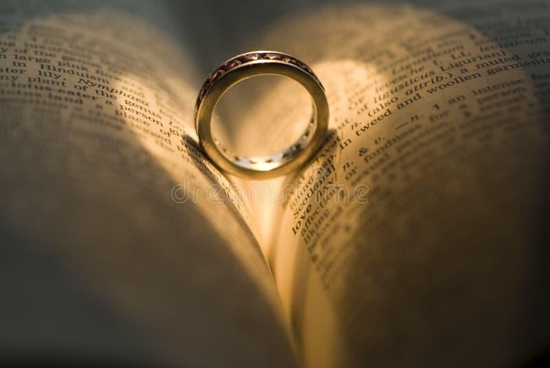 De ring van het hart royalty-vrije stock fotografie