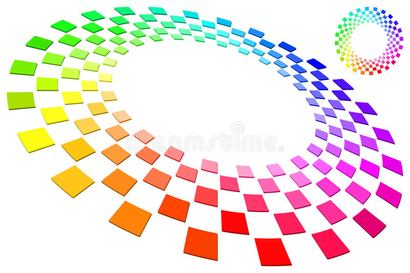 De Ring van het spectrum stock illustratie