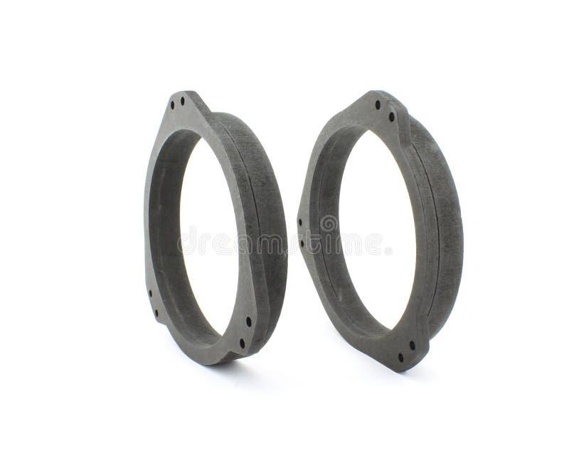 De ringen van de autospreker stock fotografie