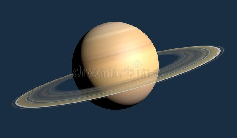De Ringen van Saturn stock illustratie