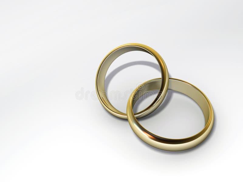 De ringen van Weding vector illustratie