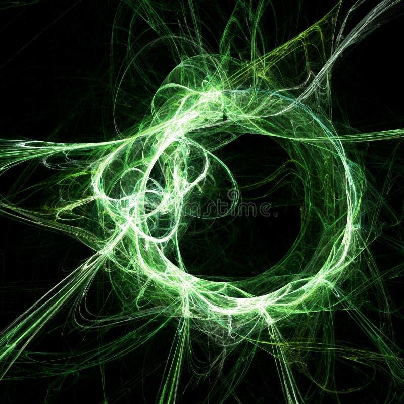 De ringsklomp van de draak stock illustratie