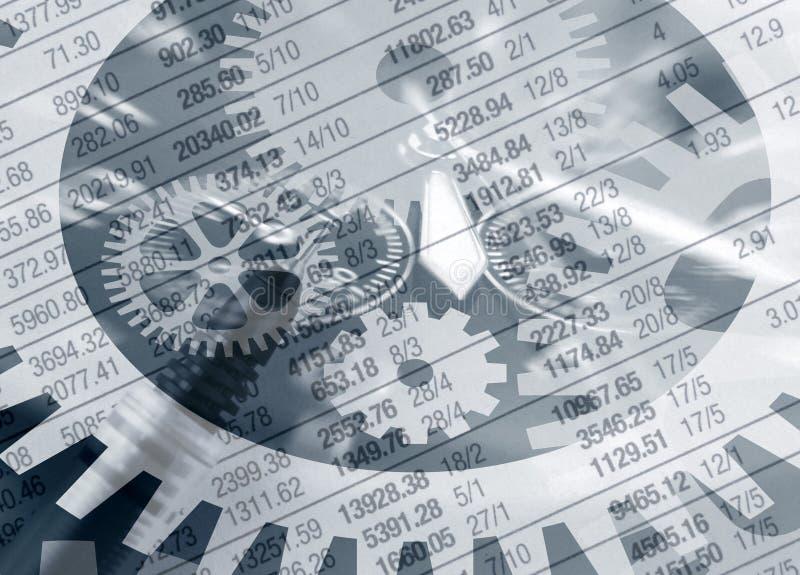 De risico's van de investering royalty-vrije illustratie