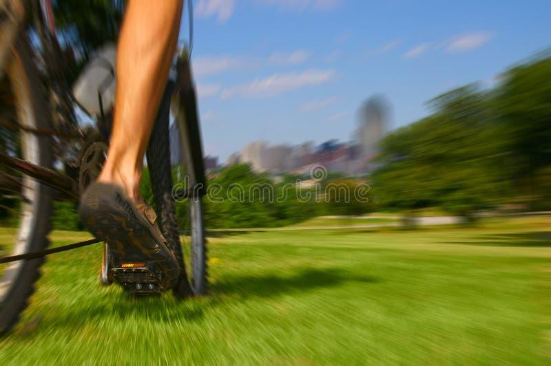 De rit van de fiets royalty-vrije stock foto's
