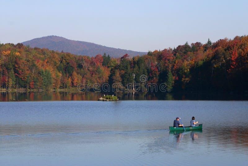 De rit van de kano stock fotografie