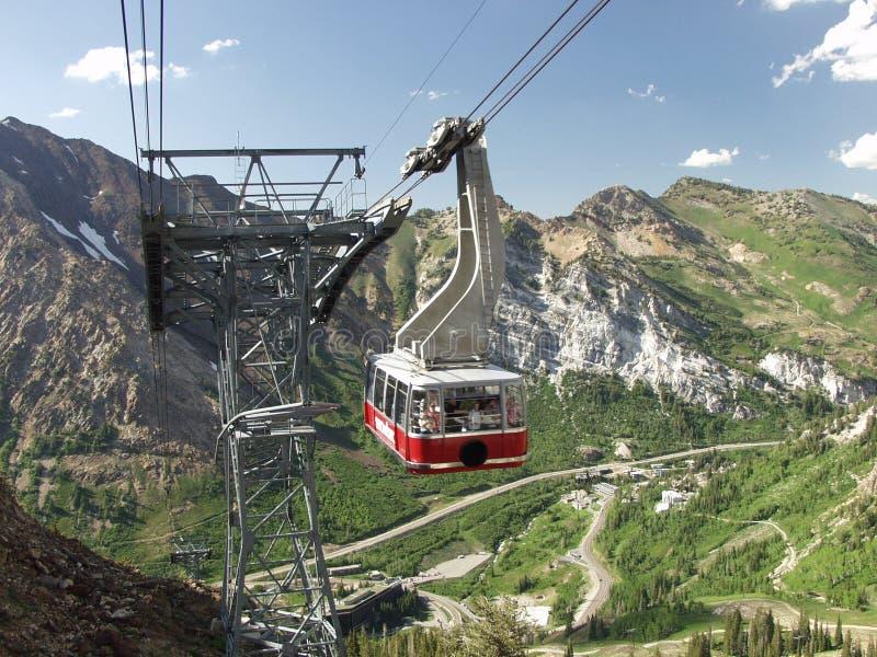 De Rit van de tram royalty-vrije stock afbeelding
