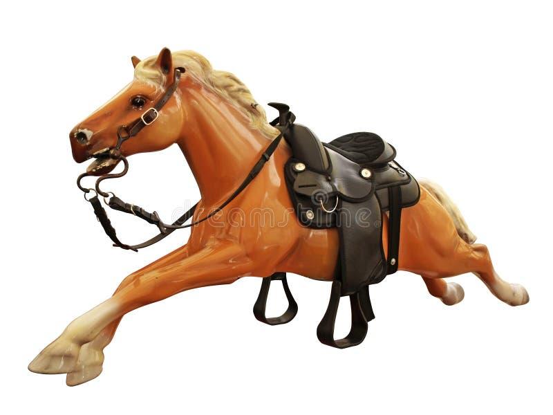 De rit van het paard stock afbeeldingen