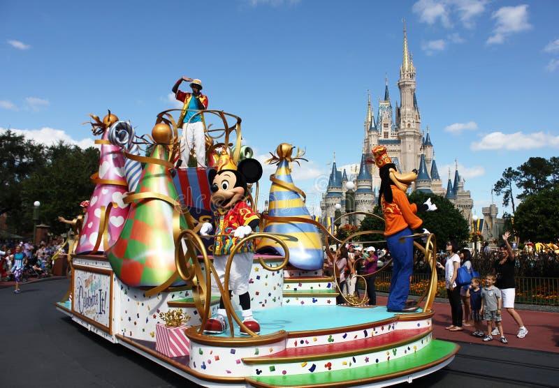 De rit van Mickeys royalty-vrije stock fotografie