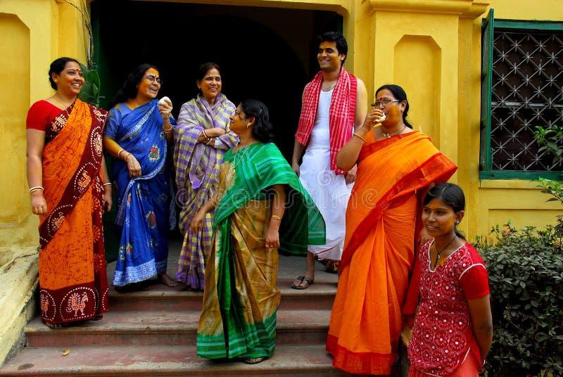 De Rituelen van het huwelijk in India royalty-vrije stock foto's