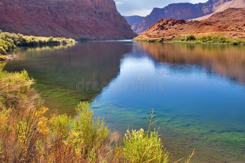 De rivier Colorado. stock foto's