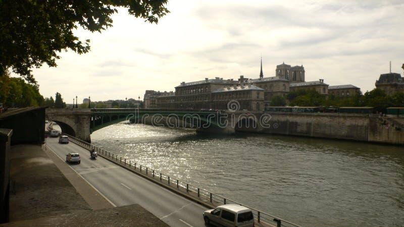 De rivier en de brug van Cambridge stock foto's