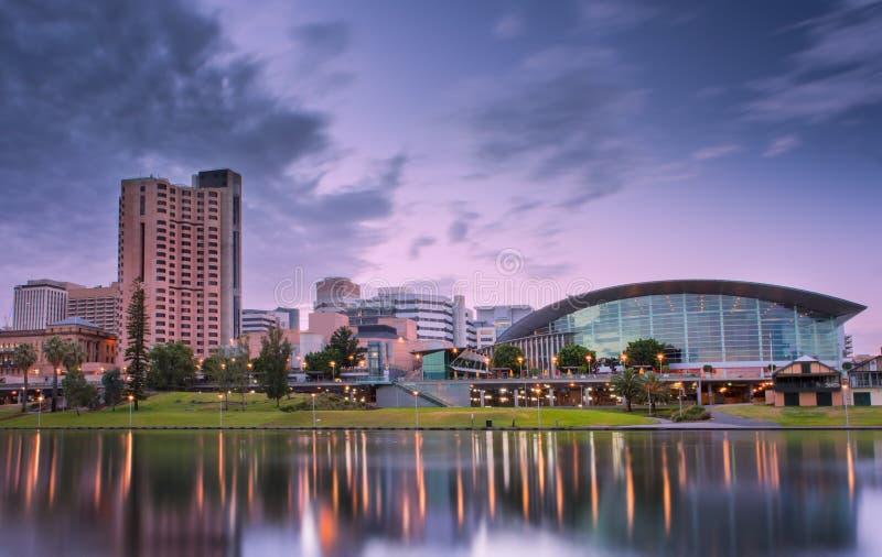 Adelaide Stad royalty-vrije stock afbeelding