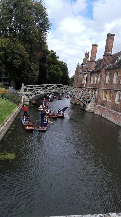 De Rivier van Cambridge stock foto's