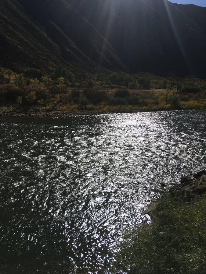 De rivier van Colorado stock afbeeldingen