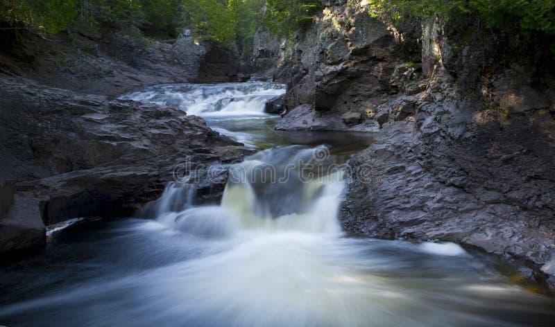 De Rivier van de cascade royalty-vrije stock foto