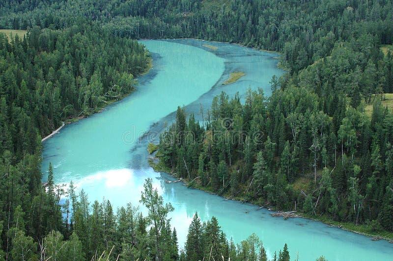 De rivier van de maan royalty-vrije stock foto's