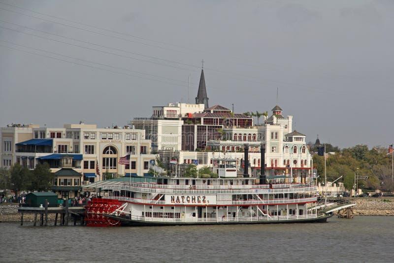 De Rivier van de V.S., Louisiane, New Orleans - van de Mississippi royalty-vrije stock afbeeldingen