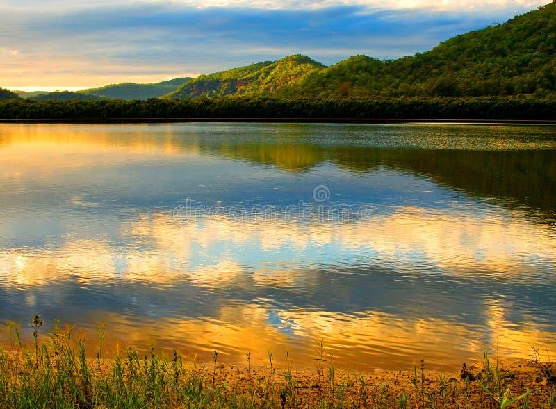De rivier van Hawkesbury stock fotografie