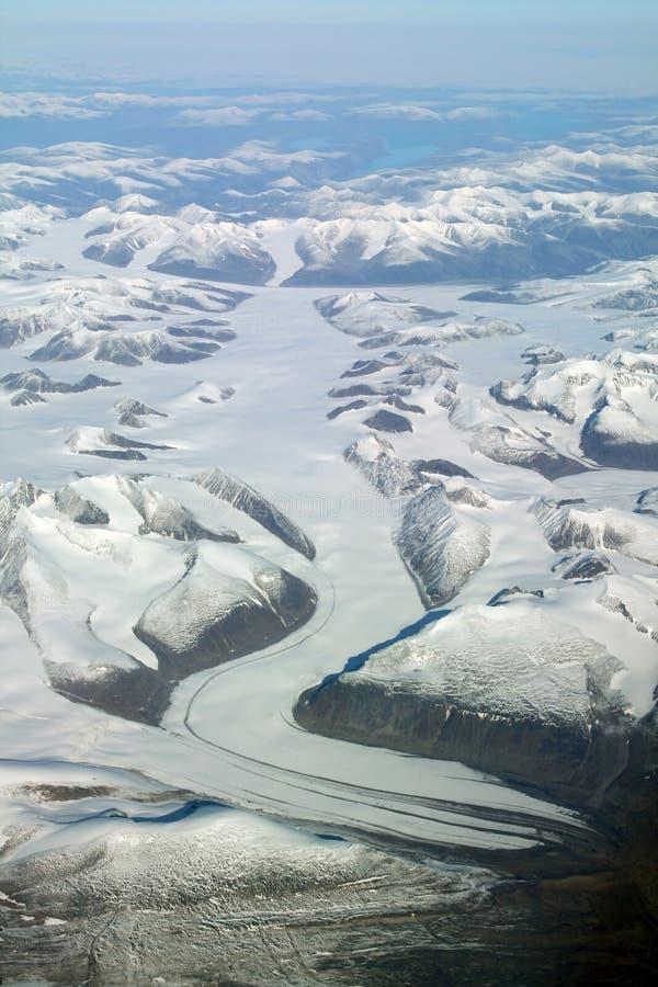 De rivier van het ijs stock foto's