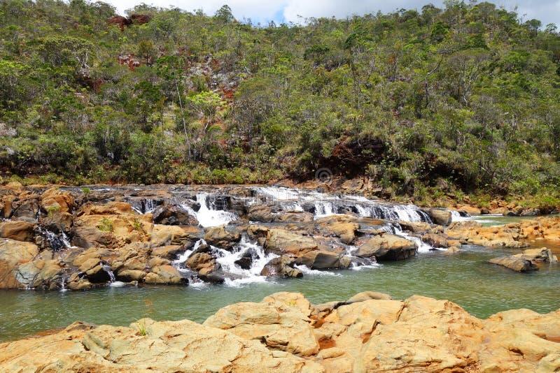 De Rivier van Nieuw-Caledonië ` s stock afbeelding