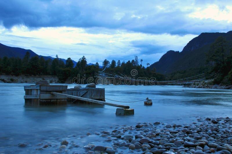 De rivier van Niyang royalty-vrije stock fotografie