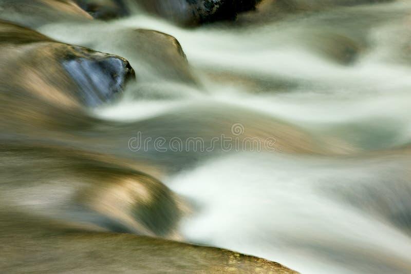 De Rivier van Oconaluftee stock foto's