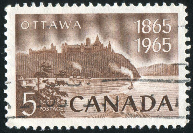 De Rivier van Ottawa stock afbeelding