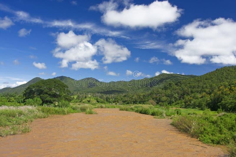 De rivier van Pai royalty-vrije stock fotografie