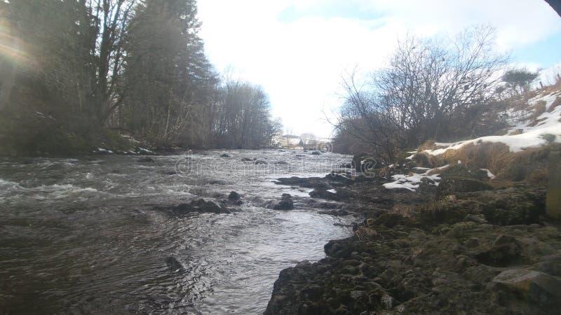 De rivier van Reekielinn royalty-vrije stock afbeeldingen