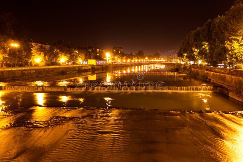 De rivier van Sotchi stock foto
