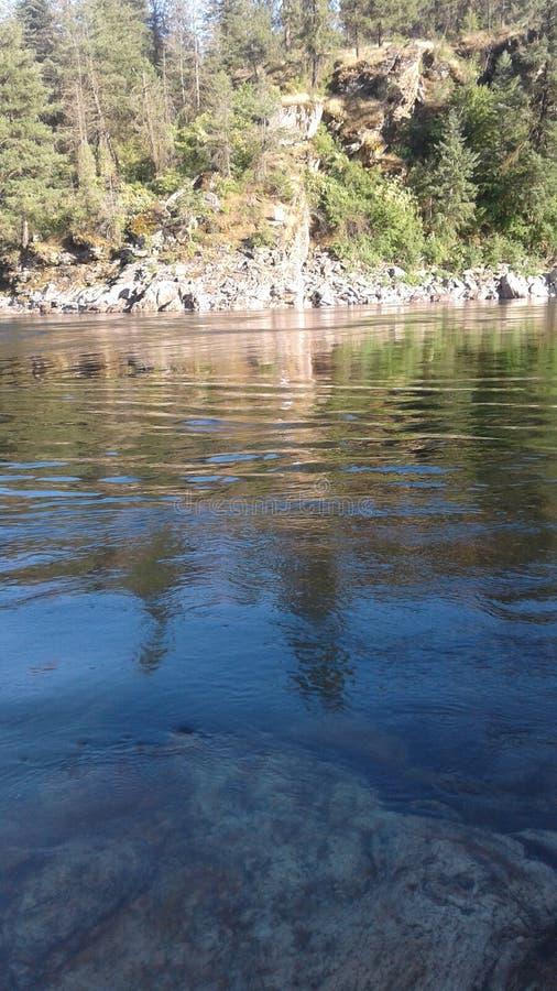 De rivier van Spokane royalty-vrije stock afbeelding